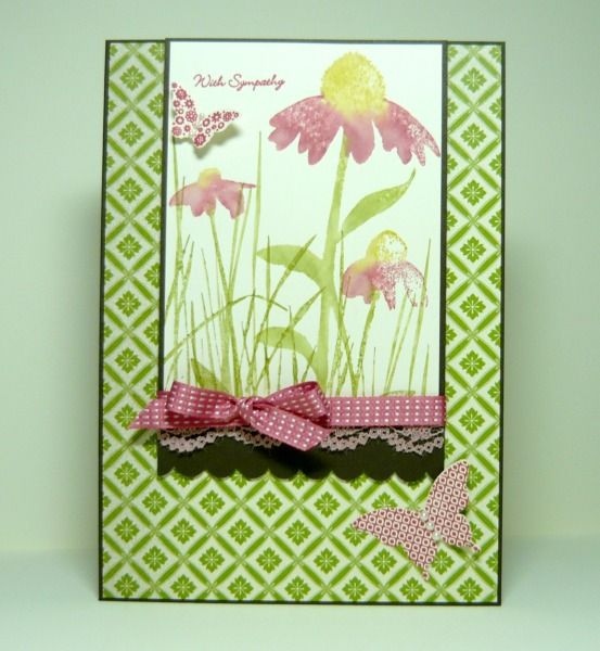 Card Making Ideas Nature Part - 17: Hard To Believe Itu0027s Been Almost A Week Since I Posted A Card! The One I  Have Today Is A Sympathy Card For A Friend Who Just Lost Her Mothe.