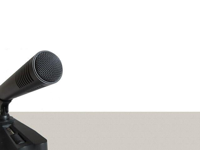 Mikrofon, Mikrophon, Audio, Aufnahme, Sprechen