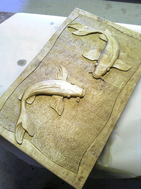 my first relief ever made.