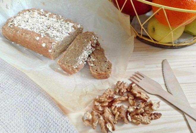 Pan dulce de naranja y avena: sin gluten, sin azúcar y con mucha fibra! - Powered by @ultimaterecipe