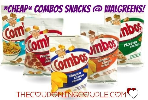 How about some CHEAP Combos Snacks @ Walgreens! Pay only $0.50 per bag!  Click the link below to get all of the details ► http://www.thecouponingcouple.com/cheap-combos-snacks-walgreens/  #Coupons #Couponing #CouponCommunity  Visit us at http://www.thecouponingcouple.com for more great posts!