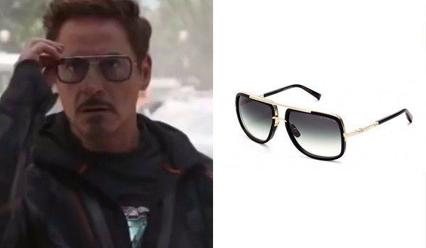 bafe1f20106 Tony Stark (Robert Downey Jr.) Glasses in Avengers  Infinity War ...