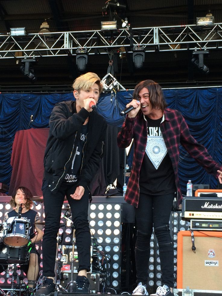 One OK Rock with Kellin!