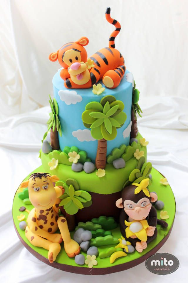 Images Of Tigger Cakes