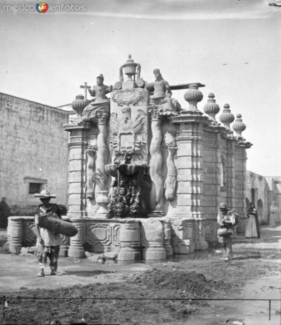 Fuente del Salto del Agua.Ciudad de Mèxico