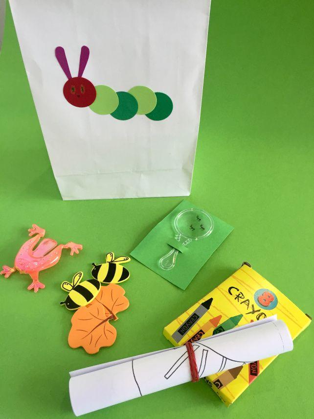 Very Hungry Caterpillar goodies bag
