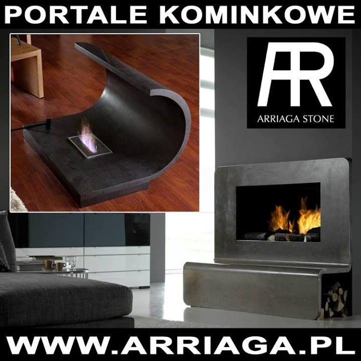 Beautiful fire needs beautiful frame http://www.tapis.pl/kominki/portale/