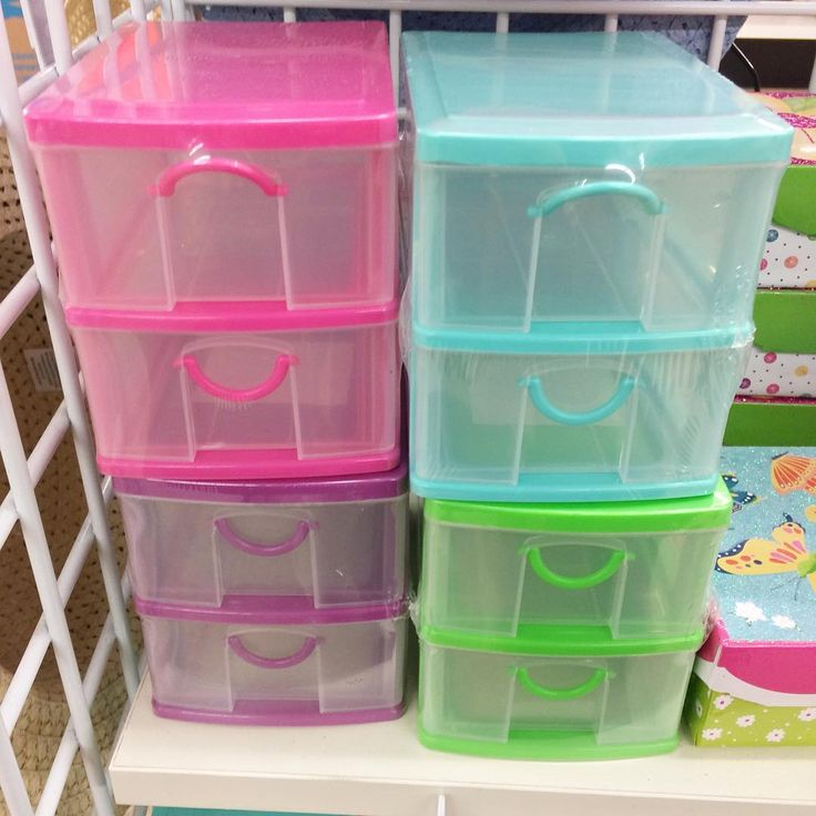 Dollar Tree Finds - Small Drawers