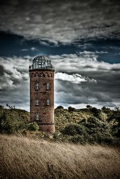 Rugen lighthouse. Germany