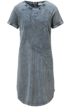 Jungle Town | Dress | Denim Look | Print | Loose Fit | Spring
