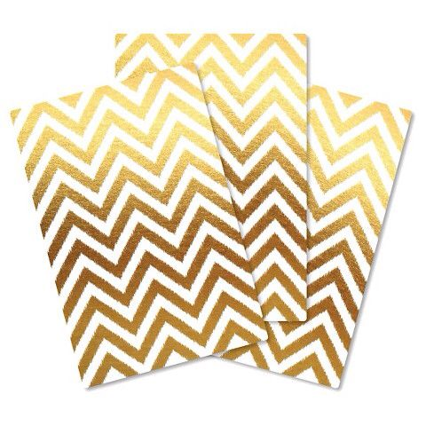 Gold chevron locker wallpaper