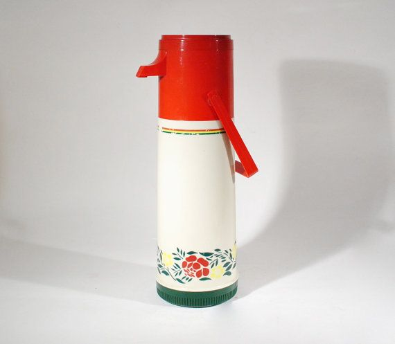 Retro Aladdin Thermos Drink Dispenser Picnic Travel Container