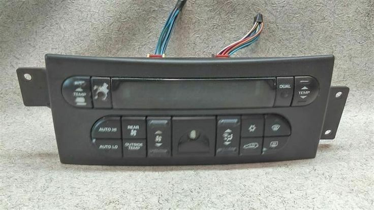 Auto Temperature Climate Control 05005080aa Fits 04 06 Chrysler Pacifica B95 Chrysler In 2020 Chrysler Pacifica Chrysler Climate Control