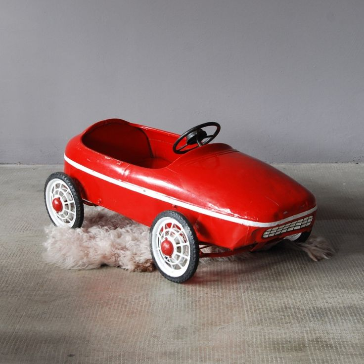 beautifully crafted vintage metal toy car
