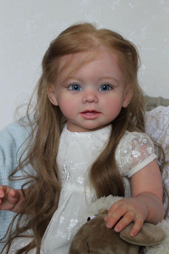 Reborn girl toddler Nicole* kit Bonnie by Linda Murray/ in Dolls & Bears, Dolls, Reborn | eBay