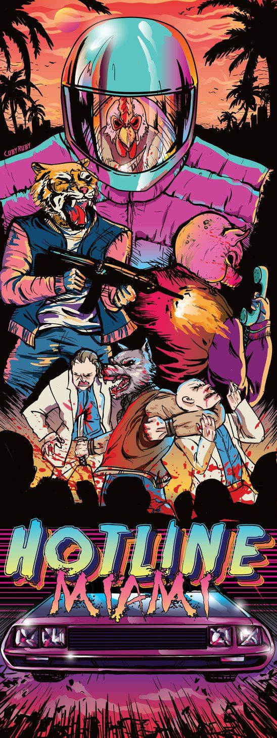 Hotline Miami by SUPERNEOON