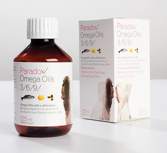 Paradox Oil packaging
