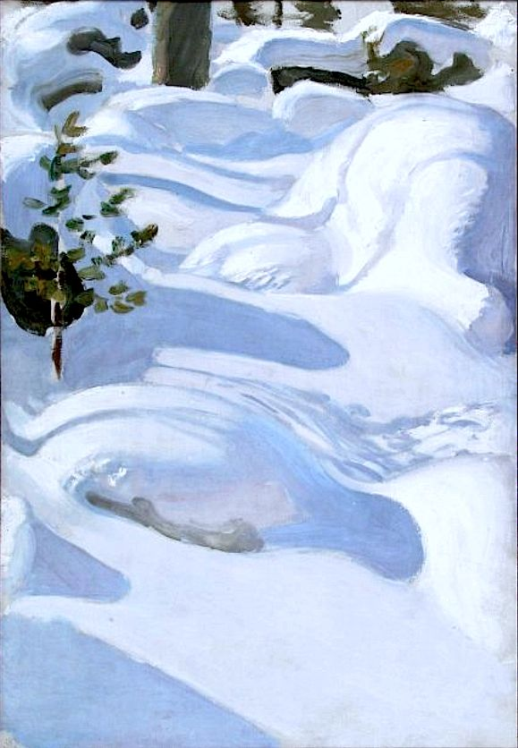 Gallen-Kallela, Akseli Sunshine on Snow, 1906