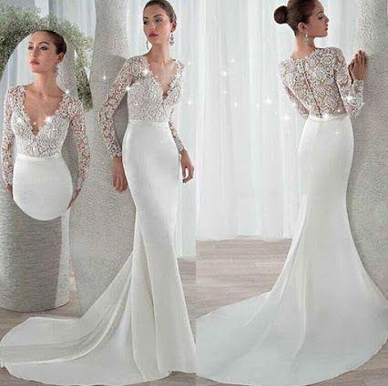 19 best Spitze Brautkleid images on Pinterest   Bridle dress ...