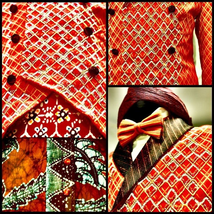 """""""Beskap"""" a very unique dress for Man. We love to make our Beskap in details, in brings out the Tradition, the Man and the Sacrificial. #beskap #javanese #Indonesia #tradition #traditional  #man #details #modern #art"""