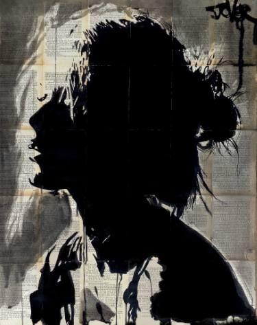 "Saatchi Art Artist Loui Jover; Drawing, ""torn"" #art"