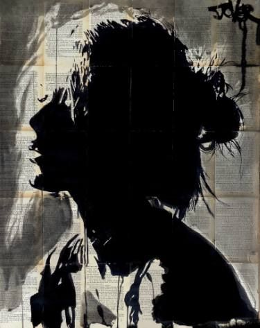 "Saatchi Art Artist Loui Jover; Drawing, ""torn"" #art"