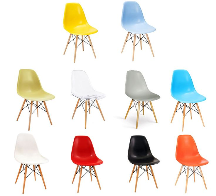 These designer inspired DSW chairs are available in a variety of colours and will transform any space. Buy dining room chairs with free UK mainland delivery. www.buydirect4U.co.uk £35.00each easy clean
