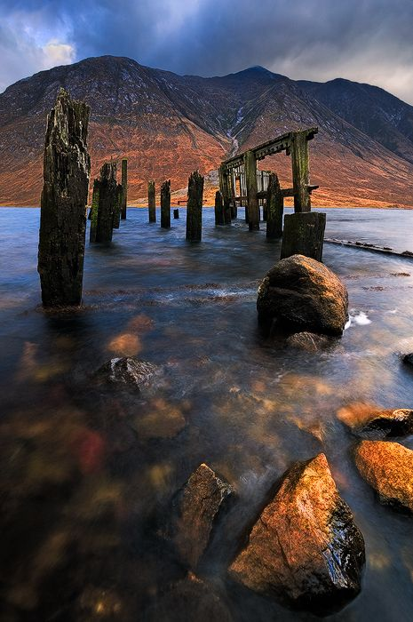 Student tour to Scotland with UK Study Tours. Loch Etive, Glencoe, Highland…
