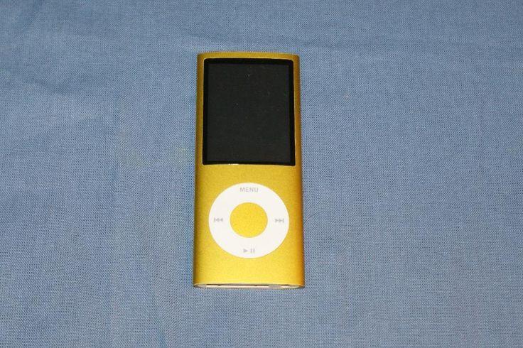 Annons på Tradera: iPod Nano 8gb, Guldgul, 4:e Generationen
