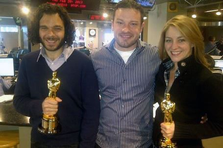 """Sean Fine and Andrea Nix Fine talk with WTOP Film Critic Jason Fraley about their Oscar-winning documentary, """"Inocente."""""""