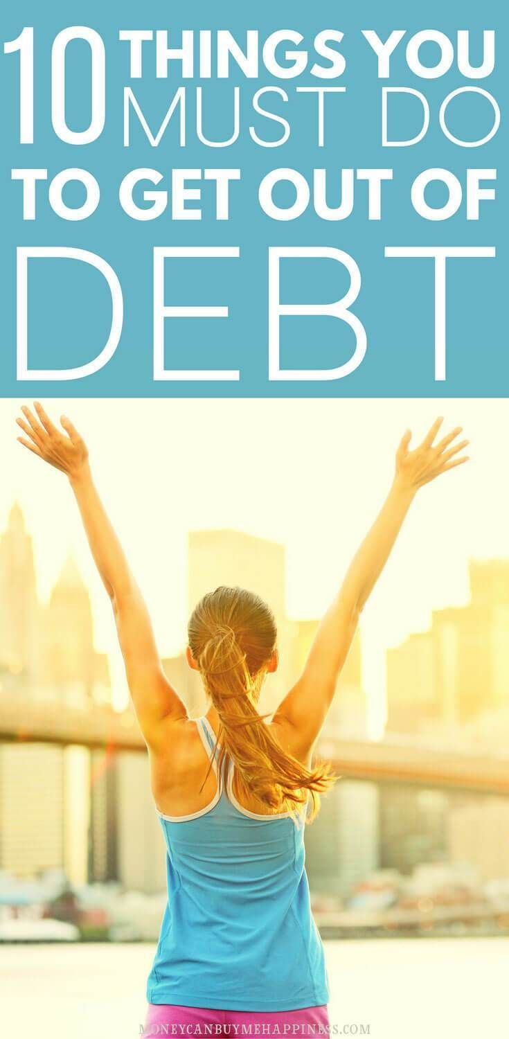 A simple step-by-step plan to get out of debt, once and for all. If you want to become debt-free, have a read of this article and start to make a plan. You've got this! Become debt-free | clear debt | pay down debt #debt #debtfree
