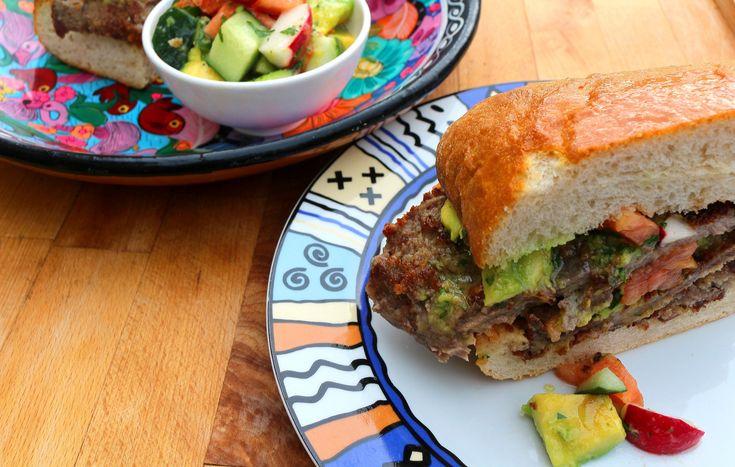 Torta De Milanesa De Res – A Dainty Little Sandwich ( NOT ! )   Chefsopinion