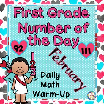 First Grade,Math, Number of the Day~Common Core & TEKS~Feb.~NO PREP, JUST PRINT These activities are JUST PRINT, NO PREP! All pages are black and white for easy printing. Each month the learning objectives will scaffold and some activities will change. These are skills my first graders are learning and reviewing.   February has numbers 92-111. These numbers are NOT meant to coordinate with the number of days in school!