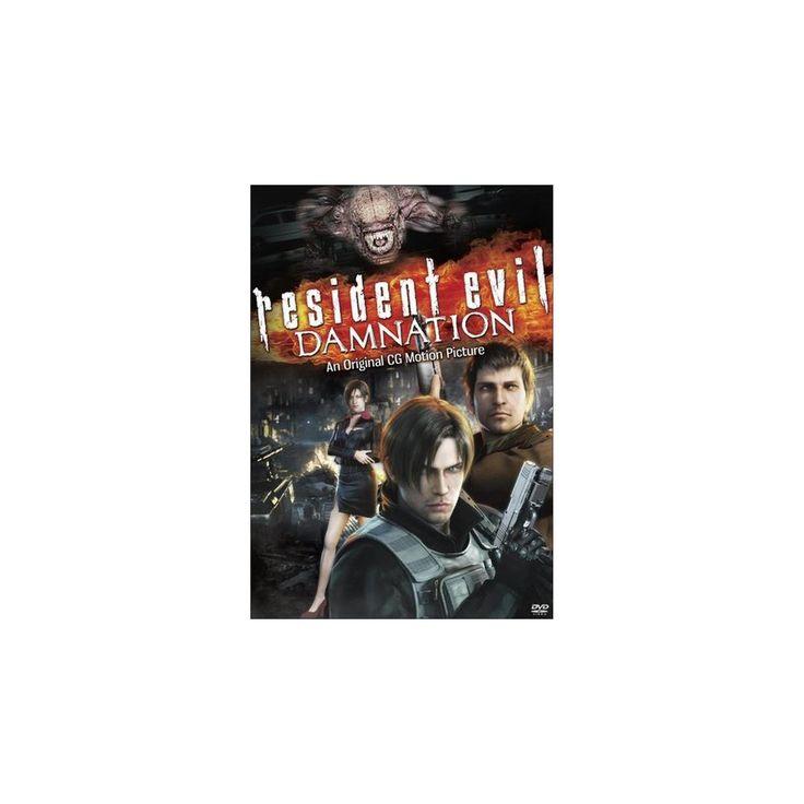 Resident Evil: Damnation (Includes Digital Copy) (UltraViolet) (dvd_video)