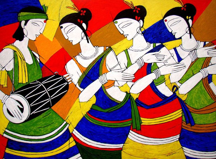 modern indian art – Google Search