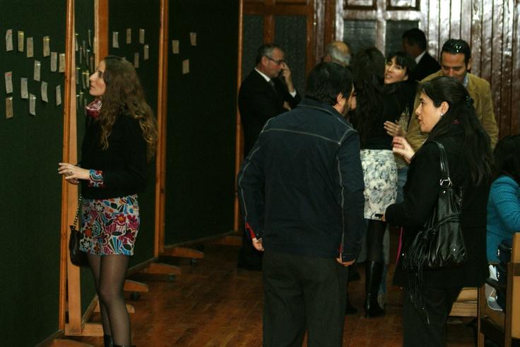 La participación fue la clave durante la inauguración del Centro Cultural Estación Antofagasta: los invitados pudieron soñar el espacio e involucrarse activamente en la puesta en valor del patrimonio