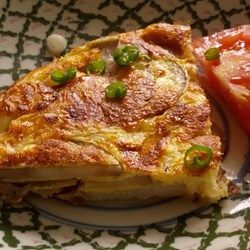 Spanish Potato Omelet Nutrition  Calories252 kcal 13%Carbohydrates10.7 g 3%Cholesterol124 mg 41%Fat21.5 g 33%Fiber1.6 g 6%Protein5.4 g 11%Sodium54 mg 2%