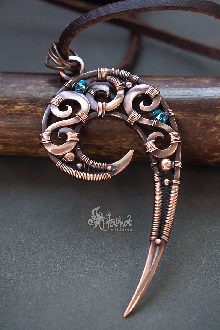 The 937 best Wire Wrap - Pendants images on Pinterest | Wire wrapped ...
