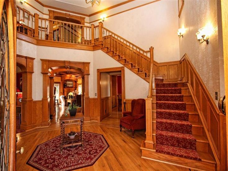 30 best Elegant House with a Victorian Staircase images on ...