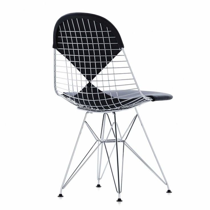 Sedia moderna / in metallo / di Charles & Ray Eames - WIRE CHAIR : DKR 1951 - vitra