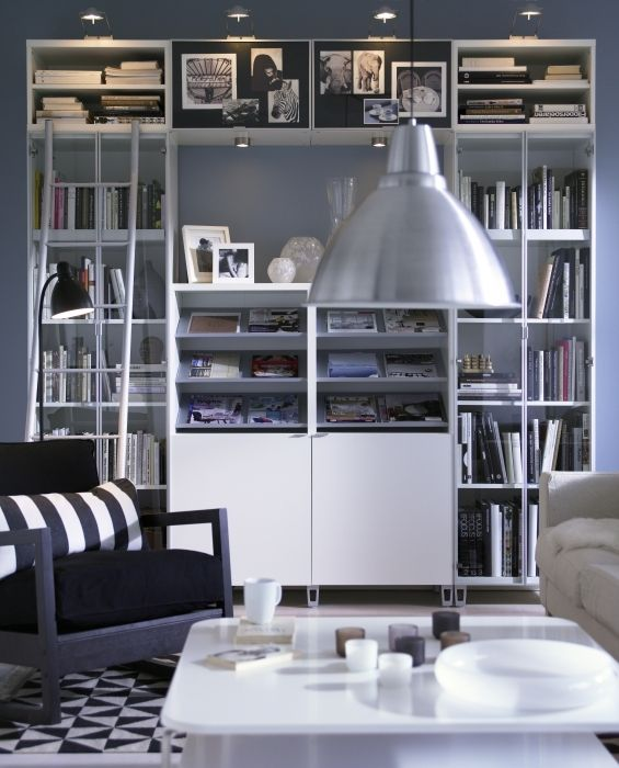 17 meilleures id es propos de biblioth ques billy sur pinterest taille de - Bibliotheque modulable ikea ...