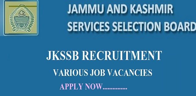 JKSSB Recruiting 100 Junior Engineers (Civil); Apply before 22 Dec  JKSSB Junior Engineers (Civil) Posts Job  Jammu and Kashmir Services Selection Board (JKSSB) invited applications for recruitment to the post of Junior Engineer (civil) in PWD (R&B) under PM Package for Kashmiri Migrants. The candidates eligible for the post can apply through online on or before 22 December 2017.  Official Notification:  Advertisement No 04/2017/01  Important Dates:  Opening date for Online Application…