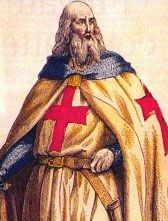 Jacques de Molay (c. 1244 – 18 March 1314) was the 23rd and last Grand Master of the Knights Templar, leading the Order from 20 April 1292 until it was dissolved by order of Pope Clement V in 1307.