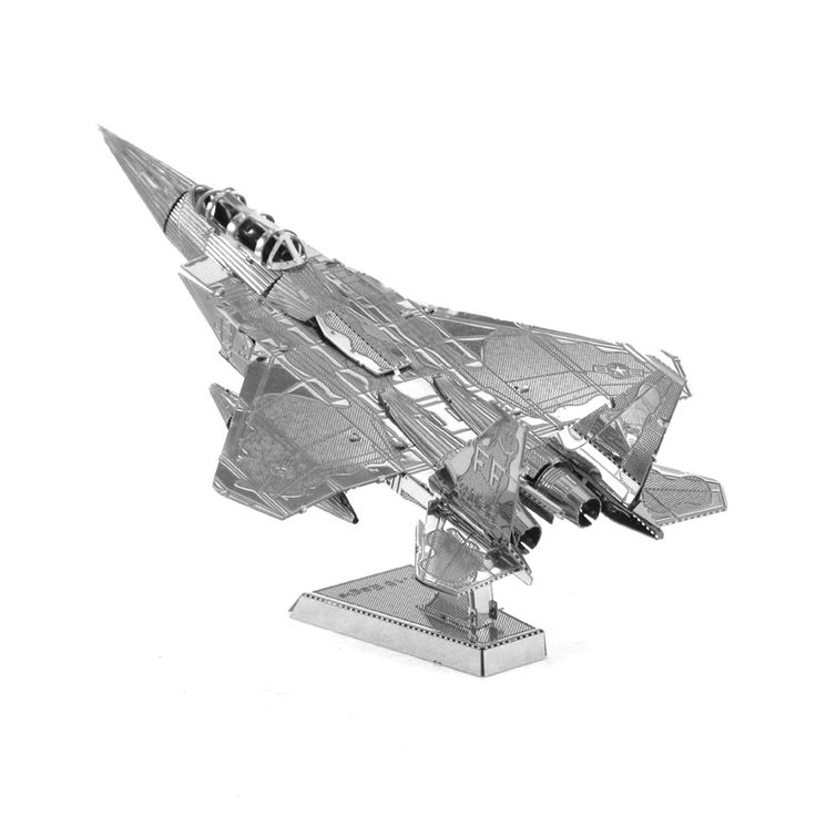 3D Metal Puzzles for children Adult Model kids Toys  for Children/Adult Jigsaw F-15 Eagle Fighter metal puzzle educational toys #Affiliate