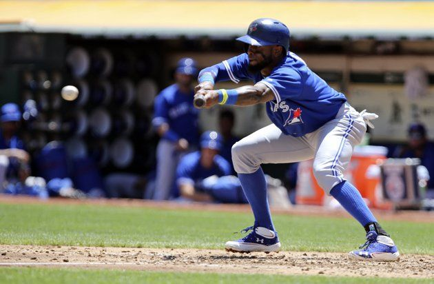 That's a great bunt by Jose Reyes