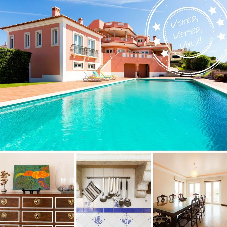 Beautiful 6 Bedroom Silver Coast Villa With Heated Swimming Pool And Short  Walk To The Beach. Book With Experts Alternative Portugal