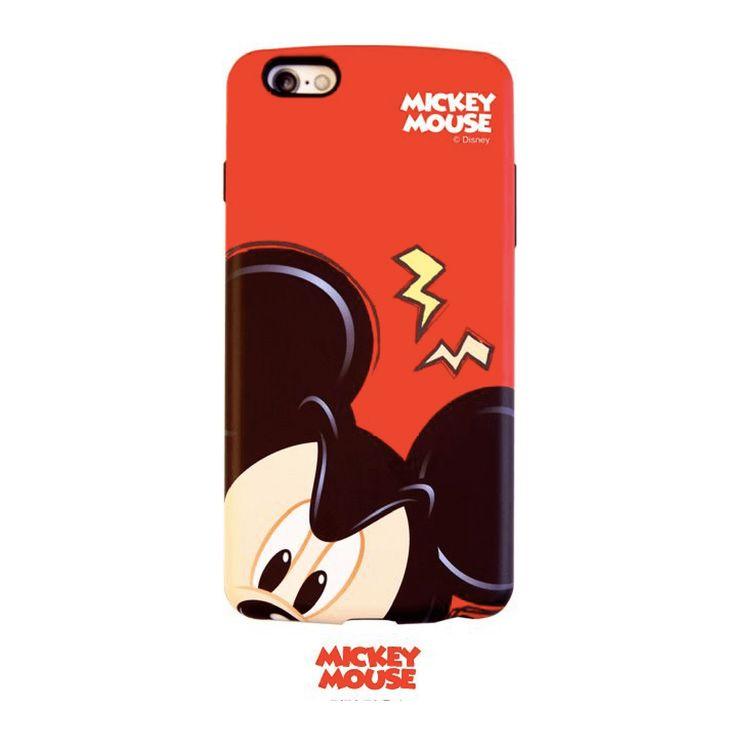 Disney Looky Dual Bumper Case - Mickey