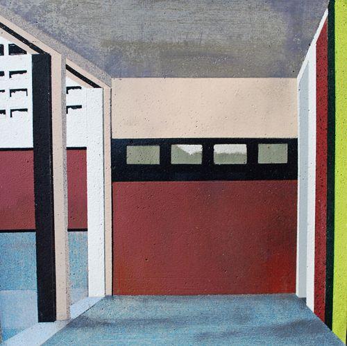 Dead End, Aerosol on concrete, 19 x 19cm, £600