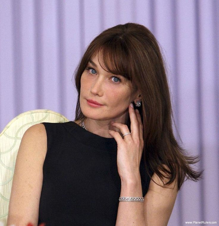Carla Bruni-Sarkozy, First Lady of France