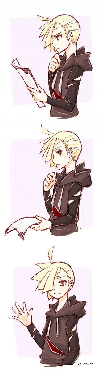 Gladion. Please. My. Heart. Can't. Take. Your. Cuteness.